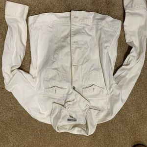GAP off white denim jacket